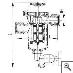 Фильтры масла и топлива штуцерные щелевые