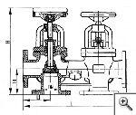 Коробки двухклапанные запорные фланцевые с уплотнением запорного органа металл по металлу