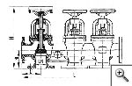 Коробка трехклапанная запорная фланцевая с уплотнением запорного органа металл по металлу