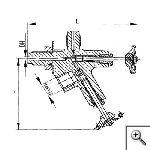 Клапаны для манометра штуцерные сальниковые с удлиненным штуцером
